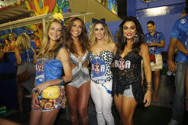 Luana Piovani, Sabrina Sato, Deborah Secco e Juliana Paes (Foto: Robson Moreira/Camarote BOA)