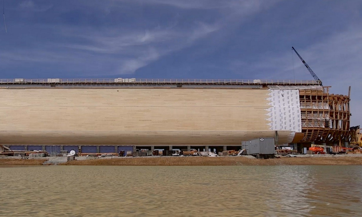 A arca deve zarpar em 7 de julho