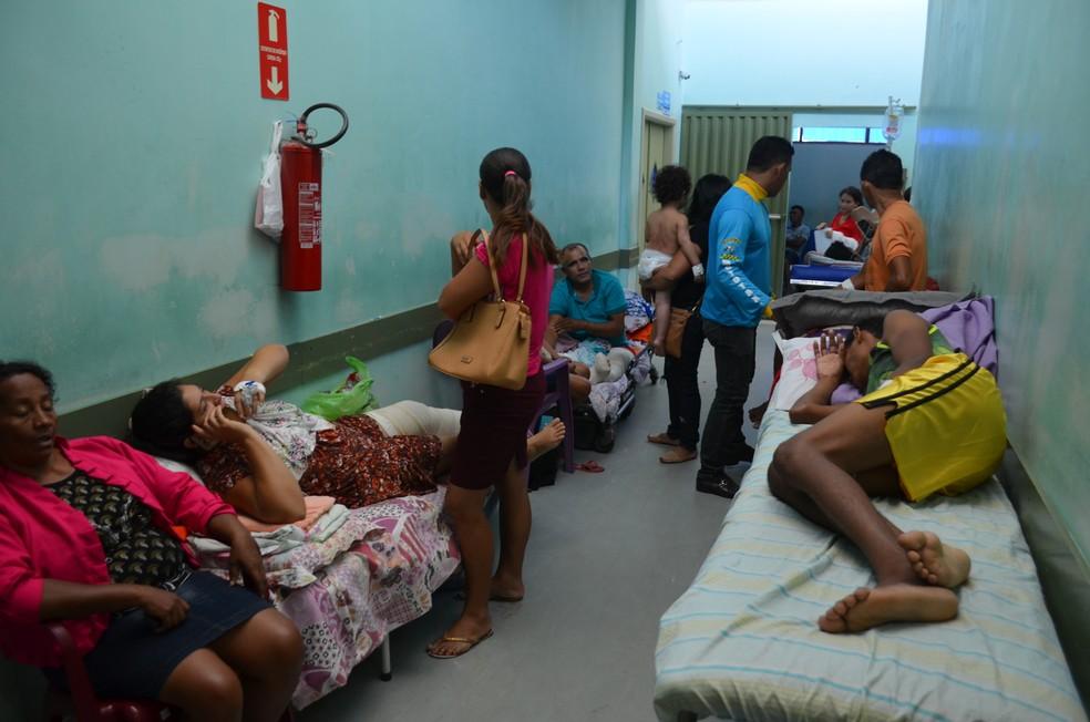 Proposta é que o Pronto Socorro de Santarém tenha nova gestão até o fim de 2017 (Foto: Geovane Brito/G1)