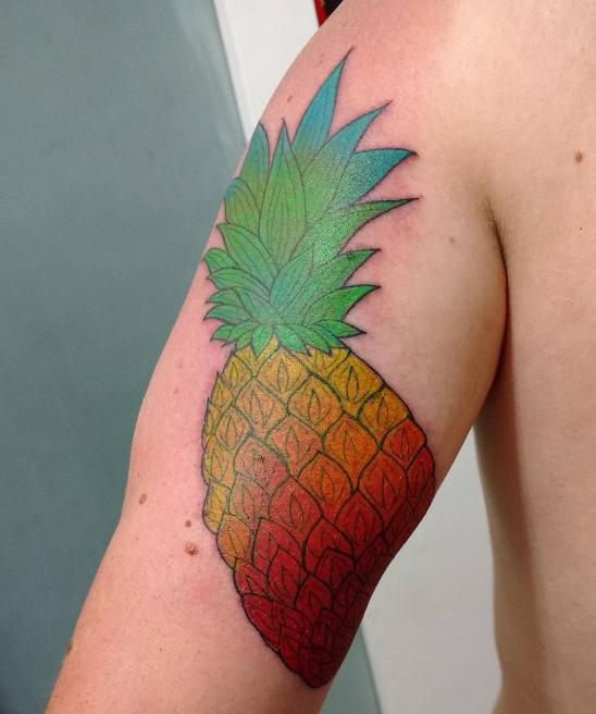 Tatuagem feita por Vivi Lima (Foto: Reprodução)