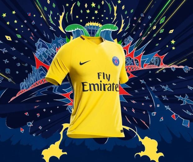 Paris Saint-Germain homenageia o Brasil em campanha (Foto: reprodução/Instagram)