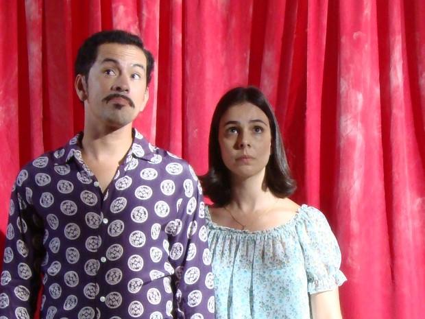Edmilson Filho e Miriam Freeland (Foto: Divulgação)