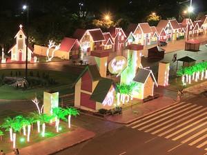 Cidade do Natal (Foto: Eder Andrade/Prefeitura de Campo Grande)
