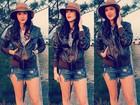 Sophia Abrahão posta foto usando shortinho rasgado