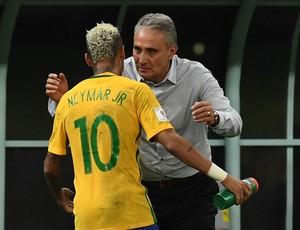 Neymar Tite Brasil x Colombia