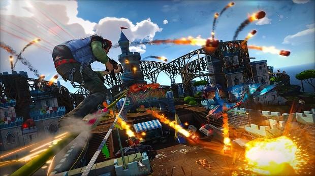 Cena do novo 'Sunset Overdrive', game exclusivo para Xbox One (Foto: Divulgação)