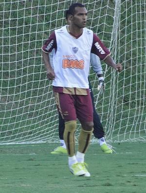 Treino do Atlético-MG, Richarlyson (Foto: Leonardo Simonini / Globoesporte.com)