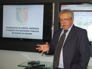 Presidenet do Tribunal de Contas da Paraíba, Fernando Catão (Foto: Jhonathan Oliveira/G1)