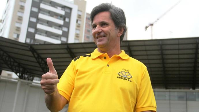 Caio Júnior Criciúma (Foto: Fernando Ribeiro/Criciúma EC)