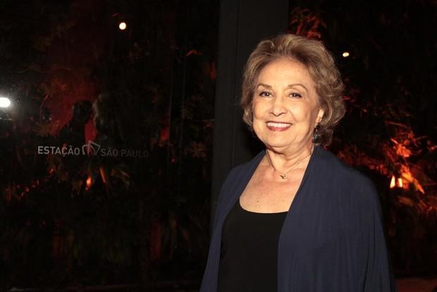 Eva Wilma em premiação em São Paulo (Foto: Paduardo/ Ag. News)