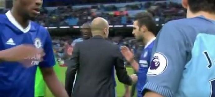 BLOG: Guardiola ignora Fàbregas e Azpilicueta após vitória do Chelsea sobre o City