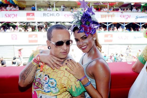 Walerio Araujo e Lucy Alves (Foto:  Marcelo Loureiro e Iris Santos/AgNews)