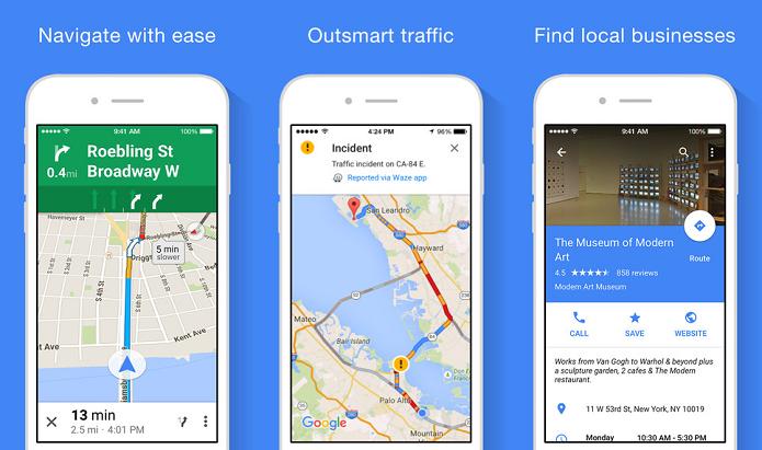 Google Maps foi atualizado para o iOS (Foto: Divulgação/Google)