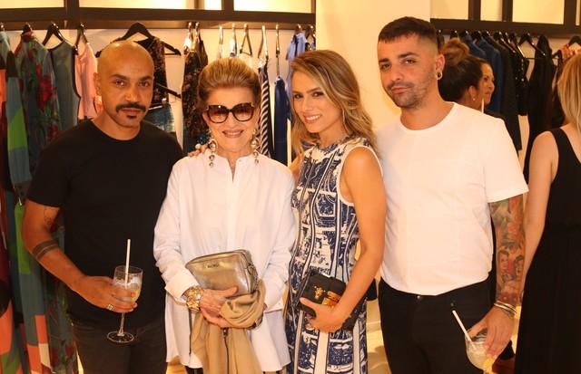 Luiz Claudio, Constanza Pascolato, Patricia Bonaldi e Lucas Magalhães (Foto: Divulgação)
