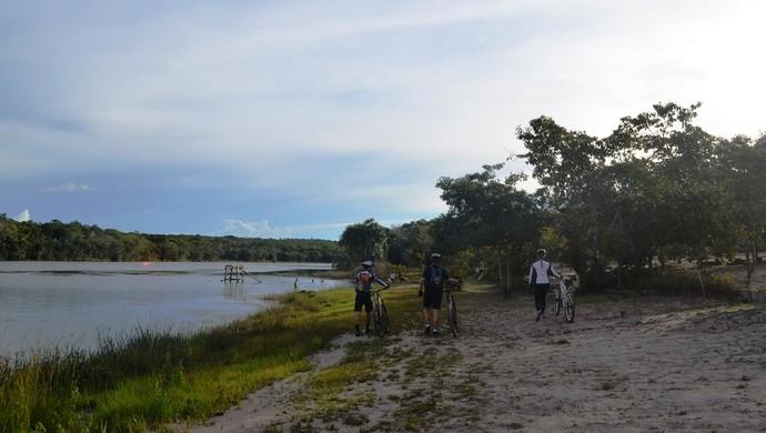 Grupo de mountain bike em Vilhena (Foto: Jonatas Boni)