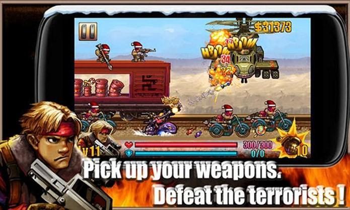 Personagens engraçados explodem tudo nesse jogo para Android (Foto: Divulgação)
