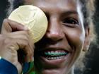 Rafaela Silva, ouro no judô, vai ser nome de escola na Zona Oeste do Rio