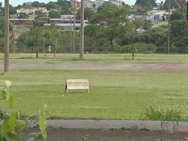 Parque Ayrton Senna, em Campo Grande, ficou fechado por 5 meses (Foto: Reprodução TV Morena)