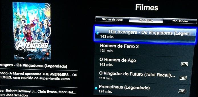 Acessando os filmes que estão em seu computador (Foto: Reprodução/Edivaldo Brito)
