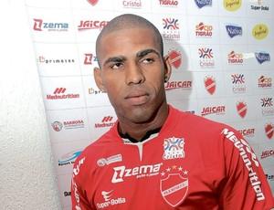 Patric, atacante do Vila Nova (Foto: Zuhair Mohamad/O Popular)
