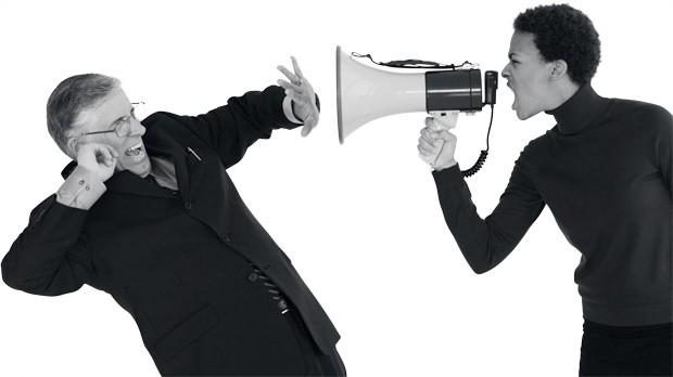 Você não está escutando?  Eu mereço ser promovida!!! (Foto: Thinkstock)