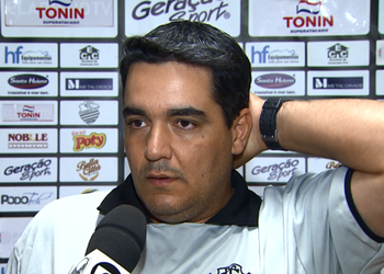 Tuca Guimarães, técnico do Comercial (Foto: Reprodução EPTV)