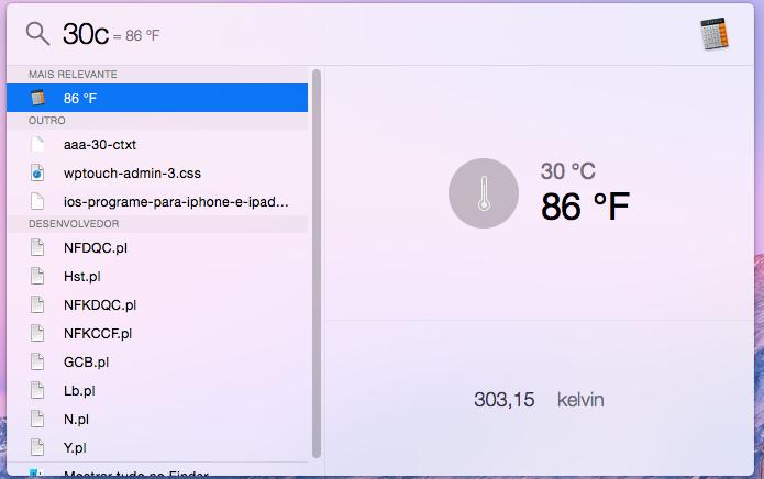 Comparando medidas de temperaturas com o Spotlight (Foto: Reprodução/Edivaldo Brito)