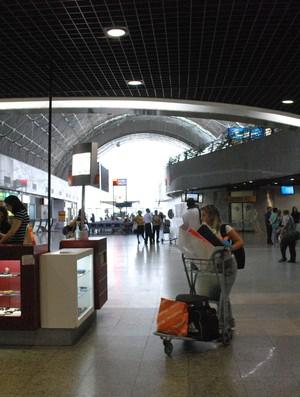 Aeroporto Internacional Pinto Martins, em Fortaleza (Foto: Diego Moreno / Agência Diário)