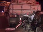 Motorista morre depois de bater na traseira de carreta na DF-003, na Epia