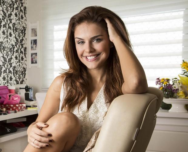 Paloma Bernardi fala sobre sensualidade e namoro ao site do Faustão (Foto: Inácio Moraes/Gshow)