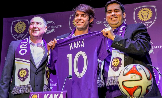 Kaká orlando city apresentação (Foto: Reprodução / Facebook)
