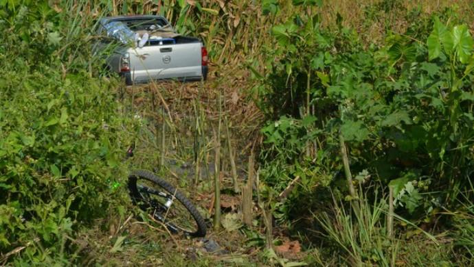 Acidente tirou a vida do ciclista Bob Fernandes (Foto: Dyepeson Martins)