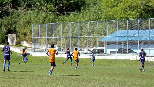 Nacional-AM treino (Foto: Isabella Pina)