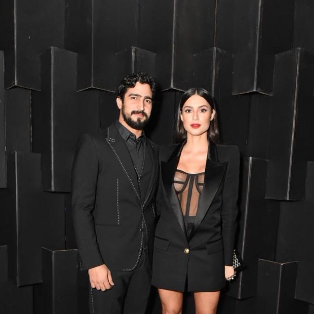 Renato Góes e Thaila Ayala  (Foto: Redação GQ)
