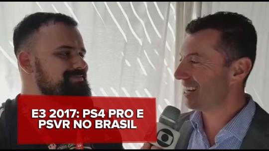 PlayStation 4 Pro e PlayStation VR serão lançados no Brasil em dezembro