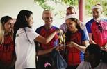 Aranha Runners faz a alegria de crianças no amigo secreto solidário do Globo Esporte RO