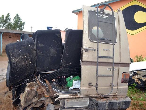 Não há informações sobre as circunstâncias do acidente (Foto: Willian Silva/Site Caetité Notícias)
