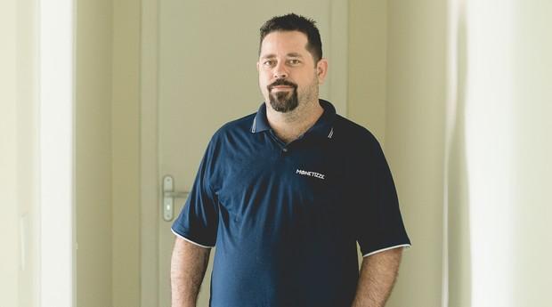 Márcio Motta, fundador da plataforma Monetizze, que une varejistas e influenciadores (Foto: Monique Olive/Divulgação)