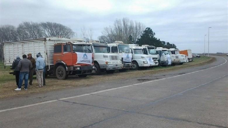 argentina-greve-caminhoneiros (Foto: Divulgação/Catac)