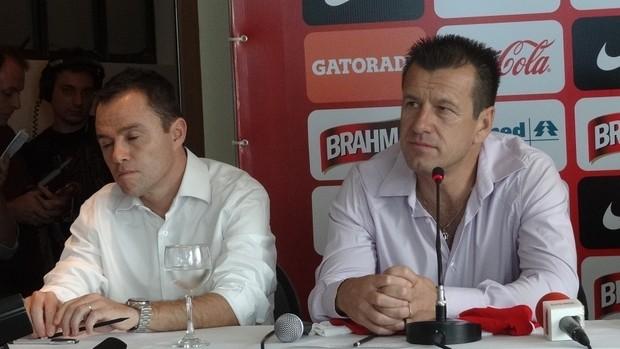Andrey Lopes Dunga Inter (Foto: Tomás Hammes / GLOBOESPORTE.COM)