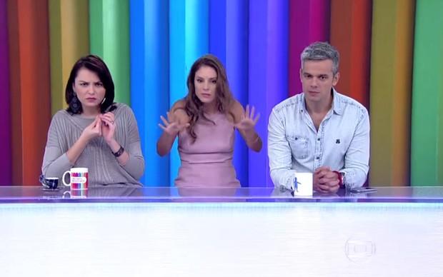 Maíra Charken vai substituir Monica Iozzi no comando do Video Show (Foto: Reprodução/Globo)
