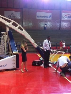 Acidente basquete Brasília David Henrique (Foto: Reprodução / Facebook)