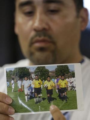 Riccardo Portillo árbitro (Foto: AP)