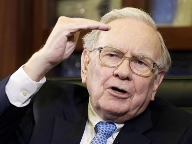 Bilionário e megainvestidor Warren Buffett é o 3º mais rico do mundo (Foto: AP)