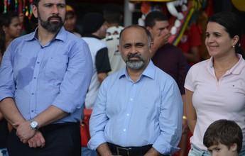 """""""MP é salvação do futebol brasileiro"""", diz ministro do Esporte em visita ao AC"""