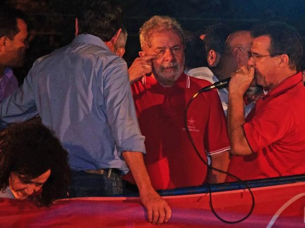lula-abc Lula participa de ato em sindicato dos metalúrgicos do ABC