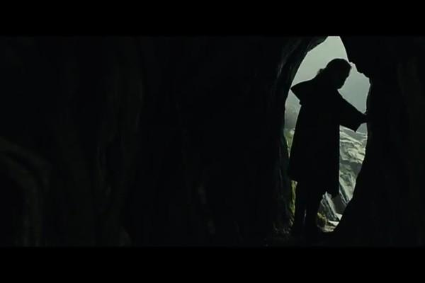 Luke em cena de 'Os Últimos Jedi' (Foto:  )