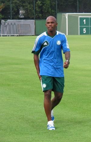 Patrick Vieira Palmeiras treino (Foto: Marcelo Hazan)