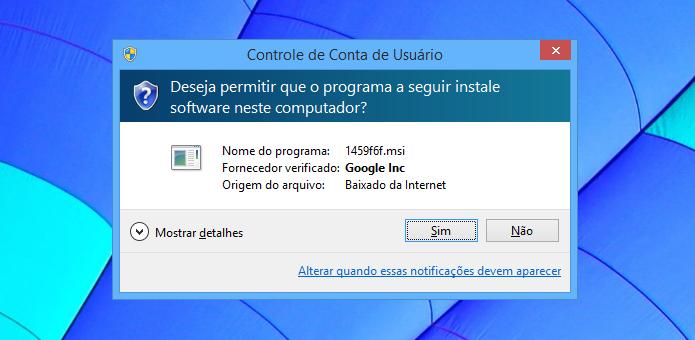 Instale o aplicativo de área de trabalho remota em seu computador (Foto: Reprodução/Helito Bijora)