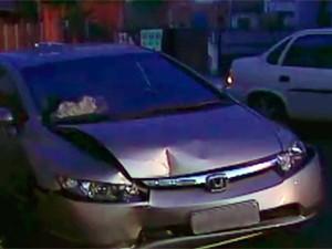 Homem dirige em ziguezague no RS e é preso por embriaguez ao volante (Foto: Reprodução/RBS TV)
